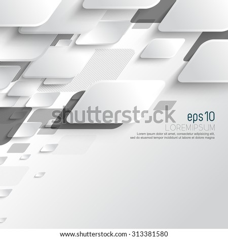 eps10 vector promotional corporate advertisement background elements concept design - stock vector