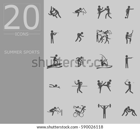 Outdoor Sports Icon