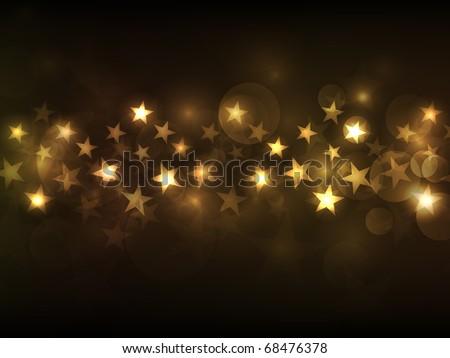 EPS10 vector star background design - stock vector