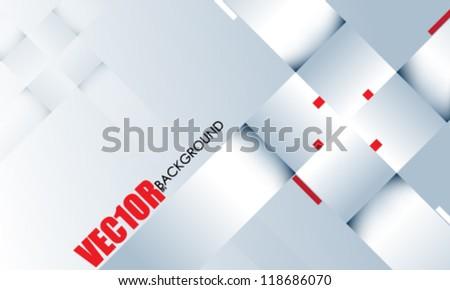 eps10 vector trendy chrome corporate design - stock vector