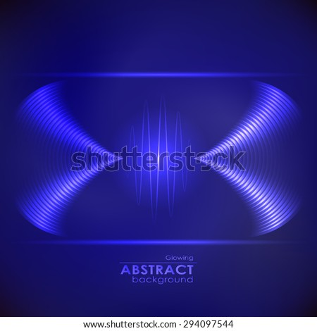 Equalizer background. Music wave - stock vector