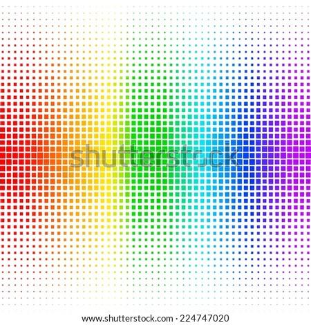 Equalizer digital. color vector illustration. 10 eps - stock vector