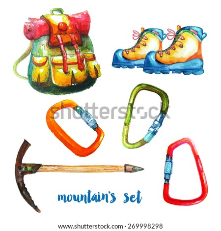 Equipment for mountain tourism