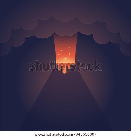 Volcano Cartoon Stock ...