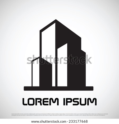 Estate icon design - stock vector