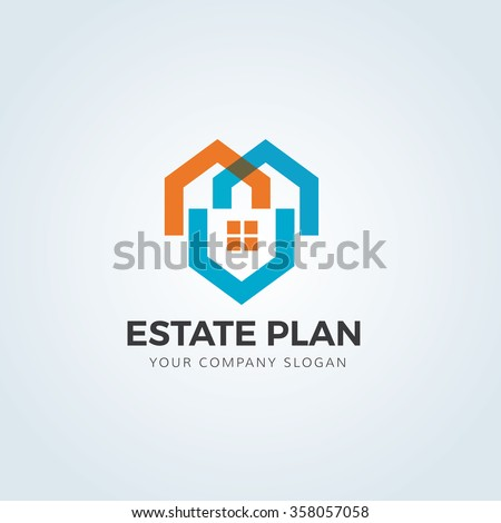 Home Care Logovector Logo Template Stock Vector