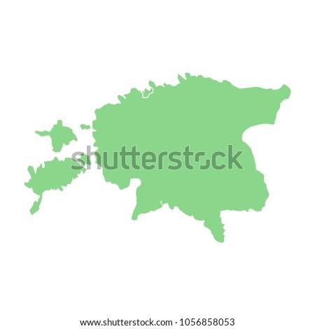 Estonia european country map stock vector 1056858053 shutterstock estonia european country map gumiabroncs Choice Image