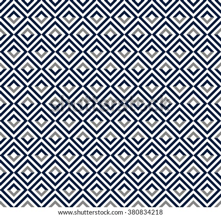 Ethnic background. Abstract monochrome seamless pattern. Allover abstract texture. blue and white print.