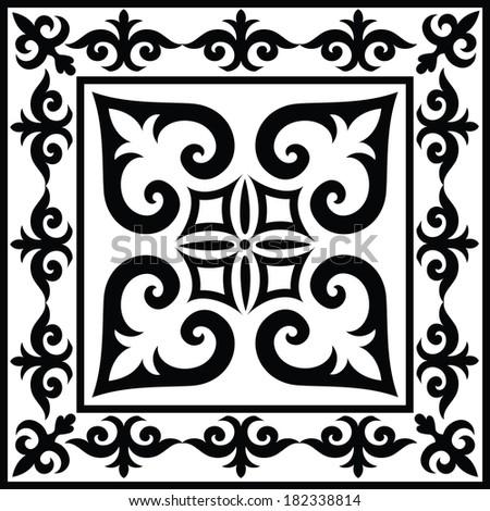 Ethnic ornament I - stock vector