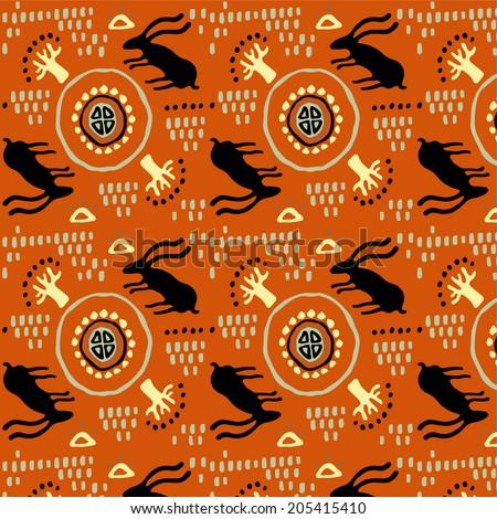 Ethnic pattern. - stock vector