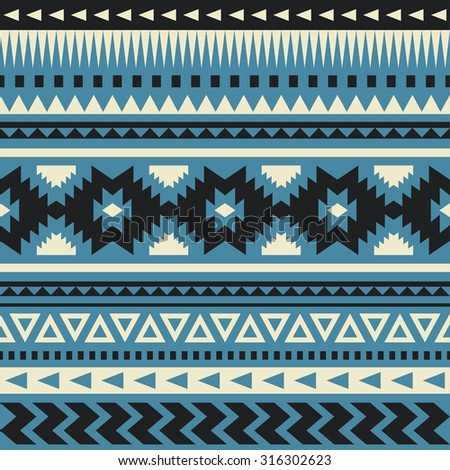 ethnic pattern design. vector illustration