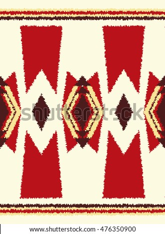 ethnic seamless pattern geometric design. vector illustration background