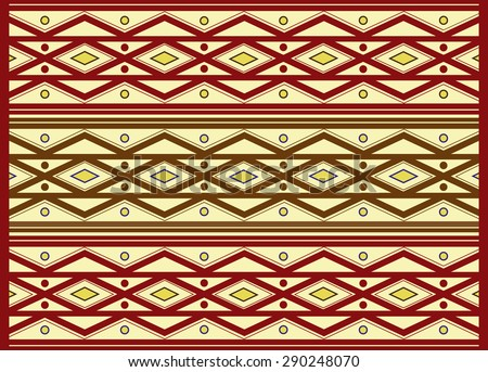Ethno-pattern - stock vector
