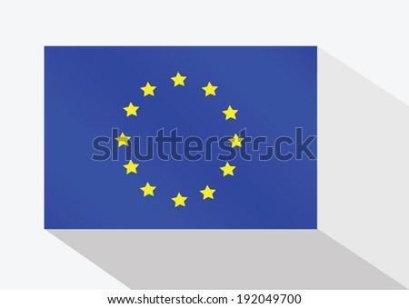 EU flag - stock vector