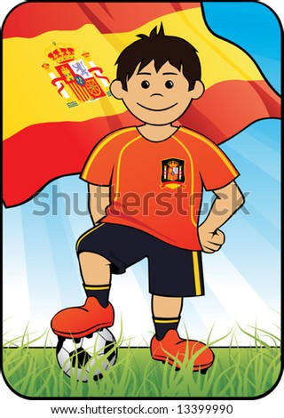 Euro 2008 soccer player - Spain