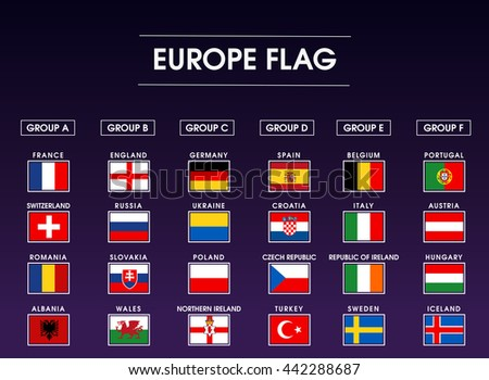 europe flag icon set 2