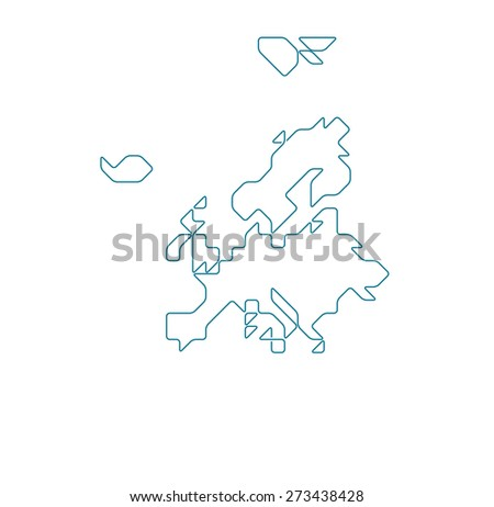 Russian Federation Map Pop Art Style Stock Vector 268176533