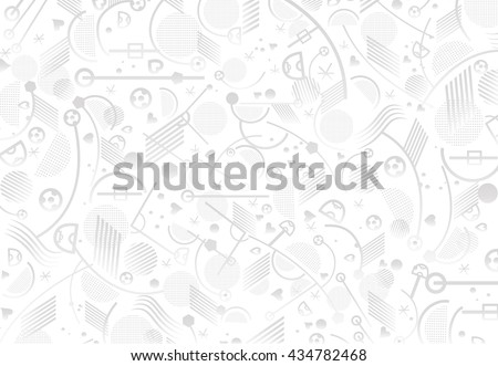 European championship 2016. Soccer Abstract grey background, soccer pattern 2016 Football. Vector Illustration. Wallpaper - stock vector