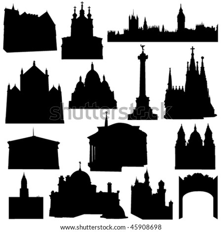 European countries, the most famous ancient buildings and cultural heritage of