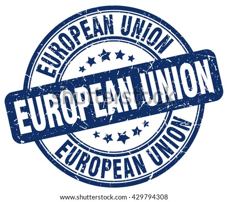 european union blue grunge round vintage rubber stamp.european union stamp.european union round stamp.european union grunge stamp.european union.european union vintage stamp.