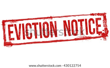 Eviction Notice Stock Images RoyaltyFree Images  Vectors