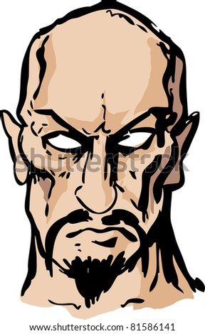 Evil Goatee Man With A Goatee Stock Images, Royalty-Free Images ...
