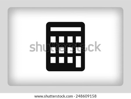 examples, math icon - stock vector