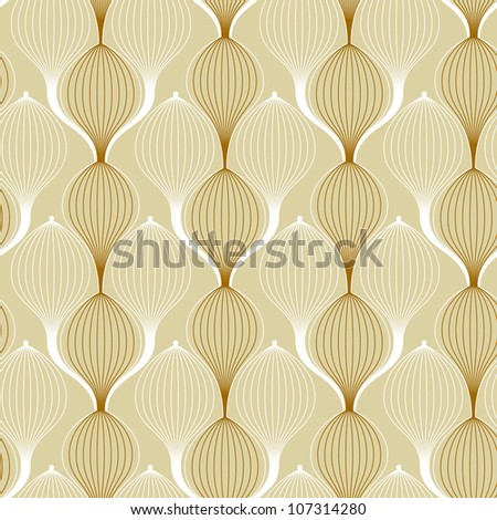 Excellent retro background - stock vector