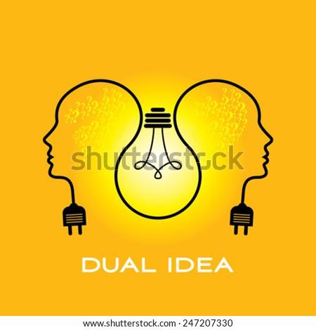 exchange ideas concepts - stock vector