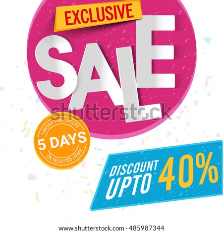 Off Limits Images RoyaltyFree Images Vectors – Sale Flyer Design