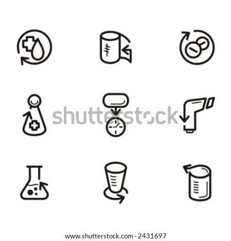 Exclusive Series of Arrow Icons. Check my portfolio for much more of this series as well as thousands of similar and other great vector items. - stock vector