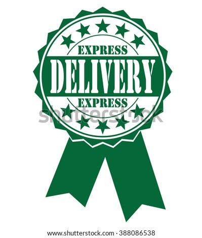 Express delivery icon, vector illustration