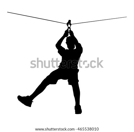 Image result for high ropes silhouette