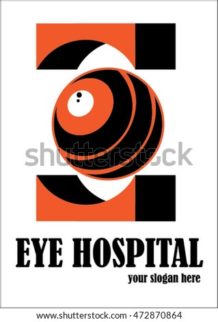 eye center logo orange