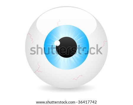 eye vector illustration