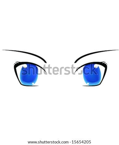 eyes - stock vector