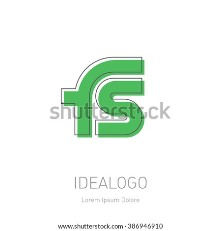 FS Logo Design by Abhikreationz  Dribbble