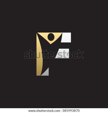 Black Background Yellow Man Logo ~ DESEMBARALHE