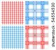fabric seamless pattern - stock vector