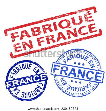 fabrique en france stamp stock photos royalty free images vectors shutterstock. Black Bedroom Furniture Sets. Home Design Ideas