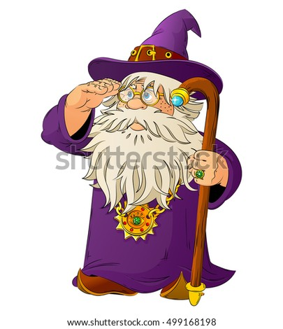 Male Sorcerer Stock Vectors, Images & Vector Art | Shutterstock