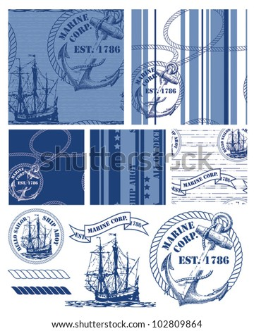 Nautical Rope Border Stock Images, Royalty-Free Images & Vectors ...