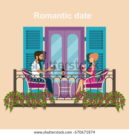 Flat ecofriendly house section interior living stock for Balcony cartoon