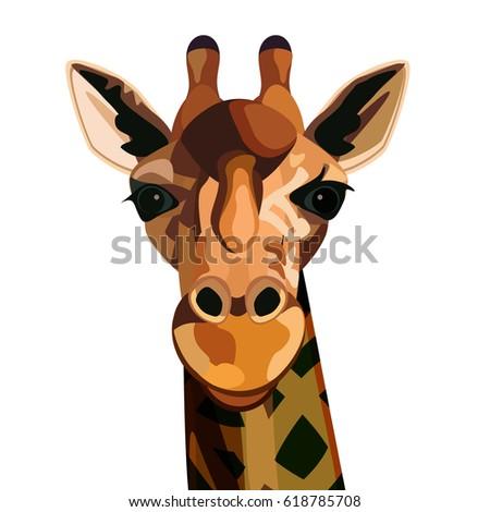 Giraffe Head Bl...