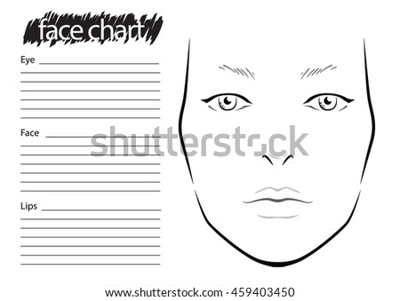 Face Chart Images RoyaltyFree Images Vectors – Eye Chart Template