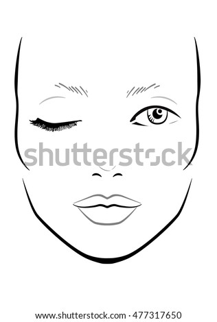 Face chart stock images royalty free images vectors shutterstock