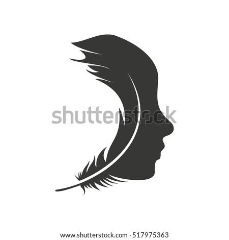 face logo design stock vector 517975363 shutterstock