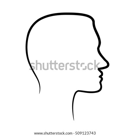 Side Profile Face Stock Images Royalty Free Vectors