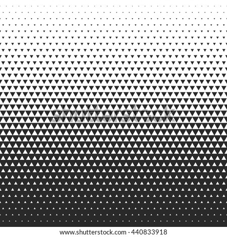 Fade gradient pattern. Vector gradient seamless background. Gradient halftone texture. - stock vector