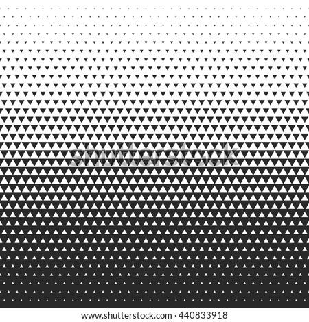 Fade gradient pattern. Vector gradient seamless background. Gradient halftone texture. - stock vector